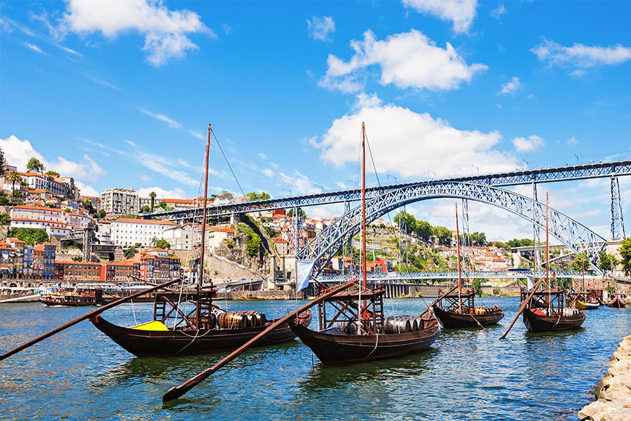 hafenstadt-portugal-porto